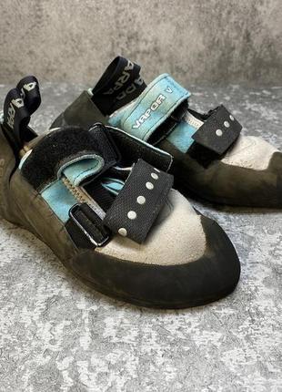 Кроссовки скальники scarpa vapor v, vibram