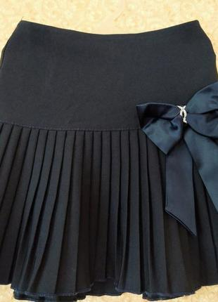Школьная плессированая юбка