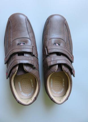 Мужские туфли trustule  на липучках и воздушной подушке.2 фото