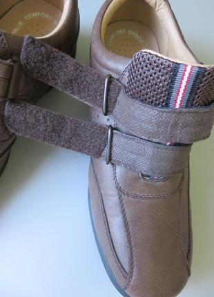 Мужские туфли trustule  на липучках и воздушной подушке.4 фото