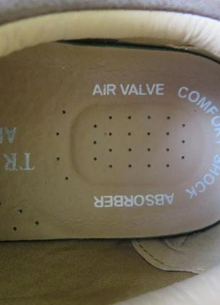 Мужские туфли trustule  на липучках и воздушной подушке.5 фото