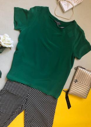 Роскошная дизайнерская шелковая блузка