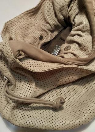 Furla шикарная кожаная сумка-хобо от легендарного люксового бренда /италия/+бонус/обмен