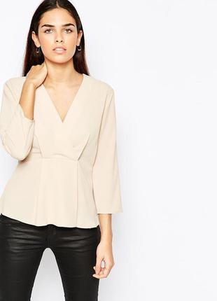 Красивая нюдовая блуза asos