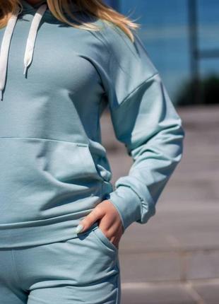Спортивный костюм женский цвет мята размер s m l xl