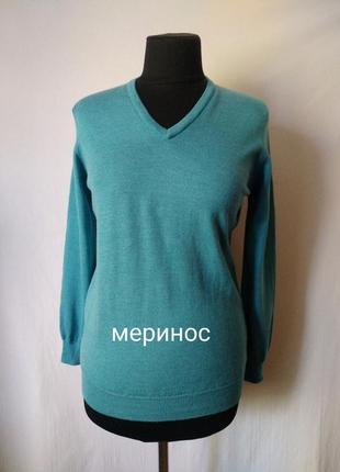 Ashworth / шотландия/ пуловер 100% мериносовая шерсть