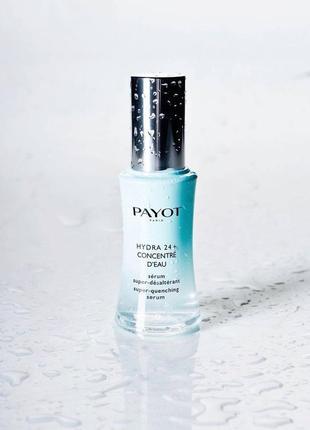 Зволожуюча сироватка для обличчя payot hydra 24+ concentre d'eau, 30мл