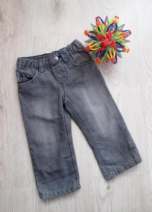 Теплые джинсы на мальчика, 86-92 см. 1-2 года. lupilu