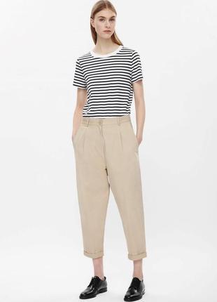 Бежевые брюки cos