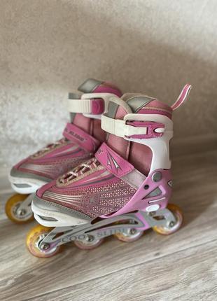 Ролики роликовые коньки 32-34 размер cool slide