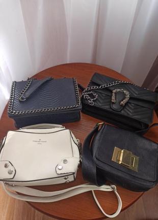 Сумки, клатчи, женские сумочки