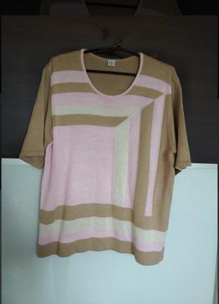 Базовая кофта футболка джемпер