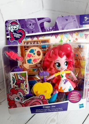 Игровой набор кукла my little pony pinkie pie пинки пай художница оригинал hasbro