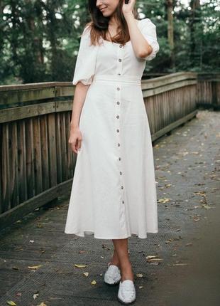 Новое хлопковое платье h&m. размер 36 и 42
