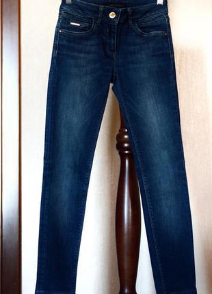 Темно синие джинсы river island классические