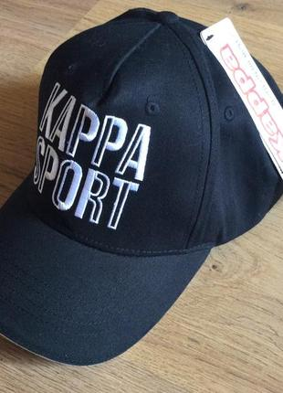 Кепка бейсболка kappa sport оригинал one size новая бирка