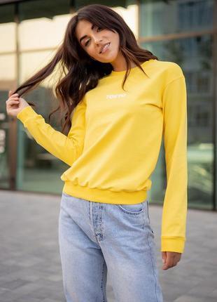💥 стильный желтый свитшот