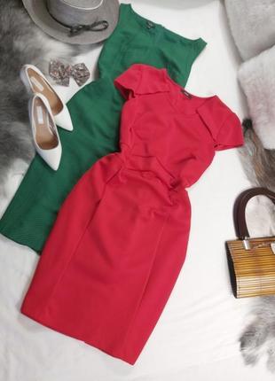 Шикарное нарядное красное платье