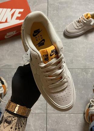 Nike air force shadow white orange кроссовки найк женские форсы аир форс кеды2 фото