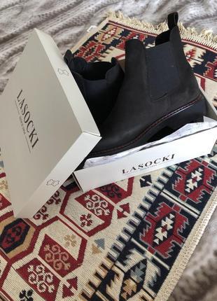 Женткие ботинки, 41 размер, нубук