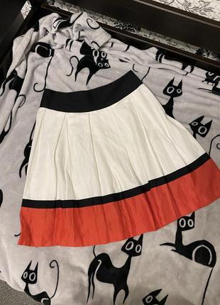 Новая коллекция👆! модная льняная юбка s-m