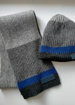 Комплект детский шарф и шапка next