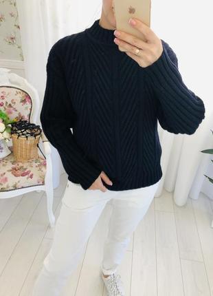 Итальянский шерстяной свитер kenzo