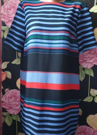 Платье в полоску р 44 46