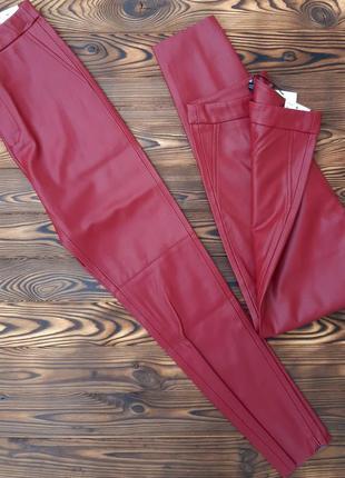 Фирменные брюки лосины zara