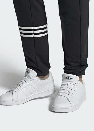 Adidas grand court кожа