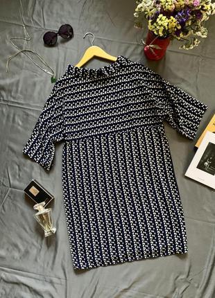 Оригинальное платье, платье свободного кроя