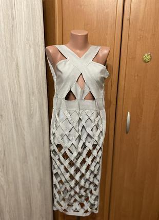 Ромпер платье бандажное