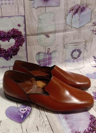 Church's мужские люксовые туфли лоферы  42 размер