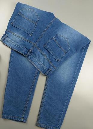 Джинсы мом синие базовые 10р3 фото