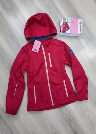 Softshell термо куртка ветровка crane 140 см, софтшелл