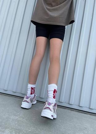 Шикарные женские кроссовки new balance 530 pink purple наложенный платёж5 фото