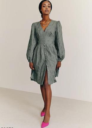 Платье ажурное прошва коттон