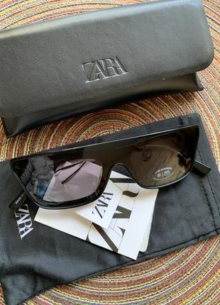 Новые солнцезащитные очки с чехлом zara оригинал