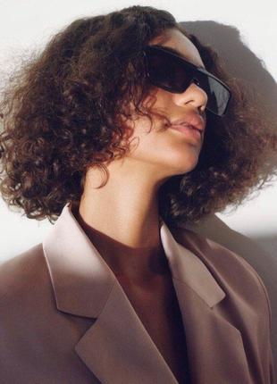 Новые солнцезащитные очки с чехлом zara оригинал6 фото