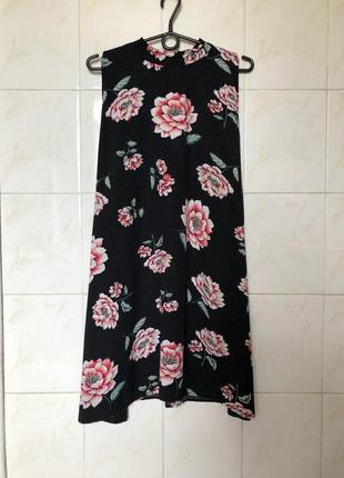 Платье в цветочный принт zara zara