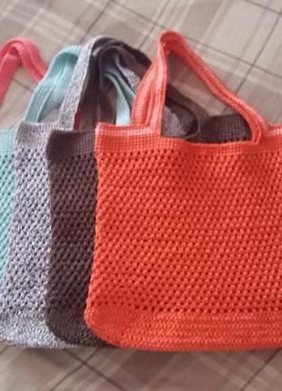 Экко сумка, шоппер ручной работы