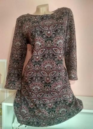 Платье из плотной ткани