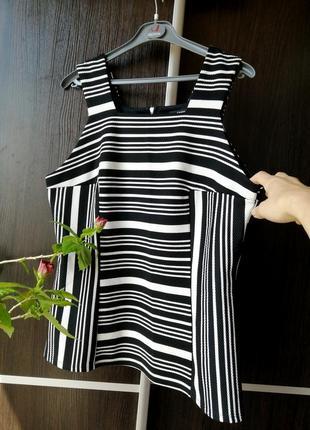 Шикарная, тонкая, лёгкая майка блуза блузка. фактурная ткань. george