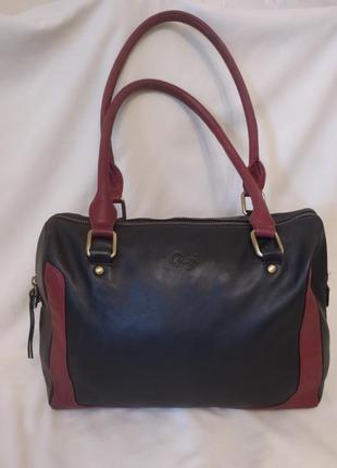 Женская сумка gigi натуральная кожа
