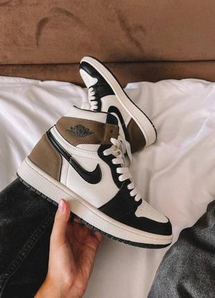 Стильные женские кроссовки nike air jordan найк✨,топ качество,живые фото,наложка