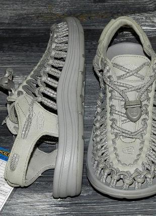 Женские оригинальные стильные трекинговые сандалии keen uneek
