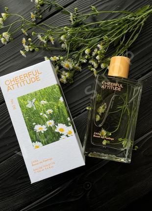 Zara cheerful attitude духи парфюмерия туалетная вода оригинал испания