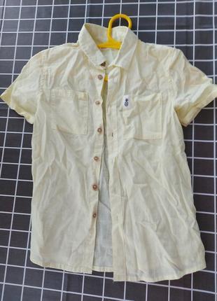 Рубашка reserved  в школу 140 см