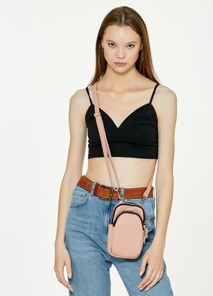 Женская сумка sambag modena sgs пудра