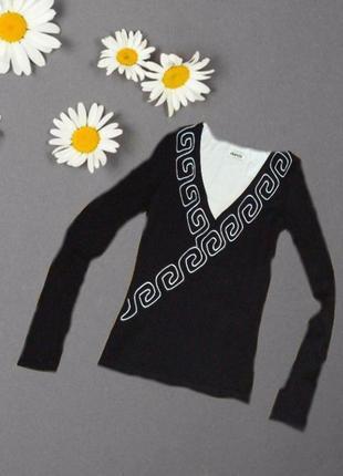 🌺🌺 стильная молодежная кофточка лонгслив с вышивкой 🌺🌺